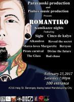Parayaoski X Pinbox Music Productions: ROMANTIKO Kamikazee Nights