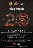 Slapshock 20th Anniversary Tour: Revamp