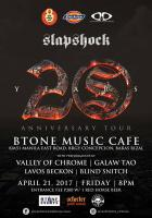 Slapshock 20th Anniversary Tour: BTone Music Cafe
