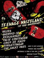 Pop Punk Manila: Teenage Wasteland 1st Year Anniversary