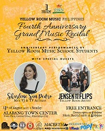 Yellow Room Music Philippines:  4th Anniversary Grand Music Recital