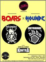 Stellar Productions Presents Boars X Houndz