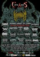 Catharsis Production: Kraanium (Asian Perversion Tour) Manila Leg