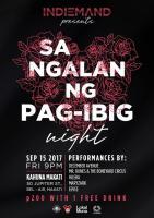 Indiemand Events: Sa Ngalan Ng Pag-Ibig Night