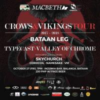 Crows & Viking Tour: Bataan Leg