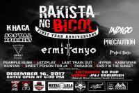 Rakista Ng Bicol 1st Year Anniversary