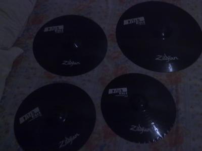 Zildjian Pitch Black Cymbals Zildjian Pitch Black Cymbals