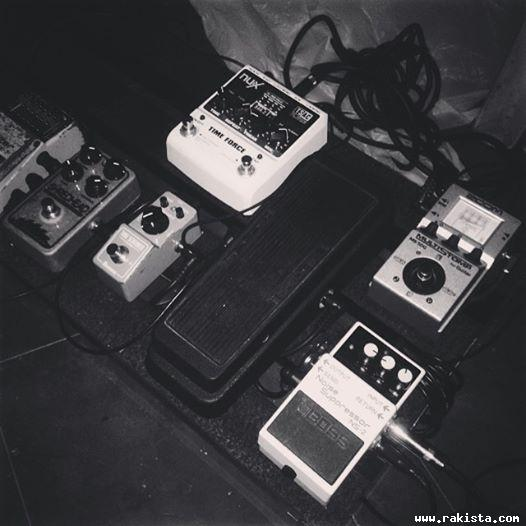 My pedal board